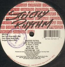 Groove Patrol - Lost In The Groove / I Can Feel It Strictly Rhythm SR12105  Usa
