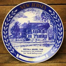 Collectible 1977 New Jersey Plate - Whitall House 1748 numbered