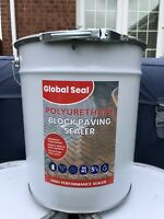 Wet Look Polyurethane Block Paving Sealer Driveway Sealant, 20ltrs Hard Wearing