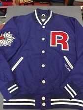 Men's REEBOK CLASSIC Varsity/Letterman Big R Jacket Sz XL Spellout Logo VTG EUC