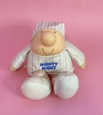 "Vintage 1986 American Greetings Ziggy Character Nighty Night Plush Doll Pj's 12"""
