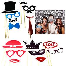 Photo Booth Gadget Feste Matrimoni Laurea Foto Selfie 15 Pezzi Scherzi Stick 529