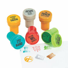 Railroad Vbs Stampers - Stationery - 24 Pieces