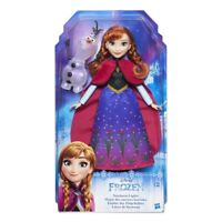 "DISNEY FROZEN NORTHERN LIGHTS ANNA 10"" DOLL BRAND NEW IN BOX GREAT GIFT"