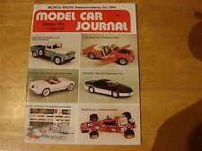 Model Car Journal Magazine       February  1994    #103