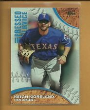 2016 (rangers) Topps Pressed Into Service #pis1 Mitch Moreland