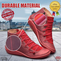 Women's Autumn Arch Support Boots Multi Colors Hot Flat Heel Boots Casual BEST