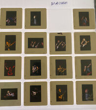 Iron Maiden Concert Music 1982 35mm Transparency Slides Lot Of 15