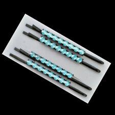 4 Pinces à cheveux épingles strass bleu turquoise 6cm -  Diamanté hairgrips