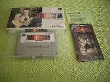>> FRONT MISSION TACTICS RPG SFC SUPER FAMICOM JAPAN IMPORT COMPLETE IN BOX! <<