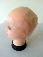 1 Thin Skin Perimeter Full Lace wig cap with ear to ear stretch.