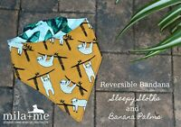 Reversible Dog Bandana/scarf For Large Breed Dogs - Great Dane, ridgeback