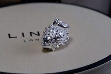 New Genuine LINKS LONDON 925 sterling silver cute Hedgehog Sweetie Charm gift