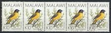 MALAWI 1988 10K ROBIN (x5) VFU (ID:763/D29164)