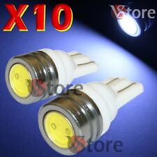 10 LED T10 SMD BIANCO XENÓN Lámparas Luces número de placa y Ubicación W5 6000K