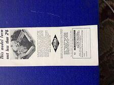 m9-4 ephemera 1958 advert j h sankey plastic cement ilford