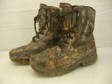 Mens 13 W Wide Herman Survivors Realtree Camo Waterproof Hunting Boots Insulated