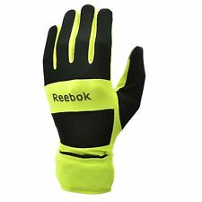 Reebok Waterproof Running Gloves All-Weather Jogging Sport with Retractable Hood