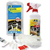 ATG Felgen Reparatur & Pflege Set - Reparatur & Reiniger Alufelgen, Stahlfelgen