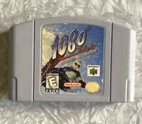 N64 1080 Snowboarding Nintendo 64 Authentic Cartridge Cleaned & TESTED Fast Ship