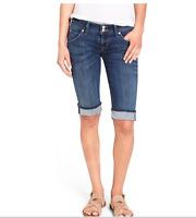 Hudson Womens Palerme Cuffed Denim Jean Shorts Size 28 NEW MSRP $165 UU14
