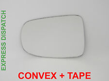 Wing Door Mirror Glass For DAIHATSU CUORE L276 2007-2012 Convex Left side #DH022