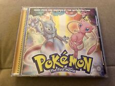 Pokémon The First Movie, Music From and Inspired By The Motion Picture, CD