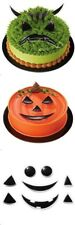 Pumpkin Face Creation Cake Topper Kit Halloween Monster Ghost