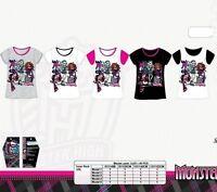 t shirt enfant Monster High 100% coton, Tee shirt fille Monster 6/12 ans