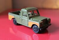 """Dinky Toys 4.4"""" LAND ROVER 109"""" WB Bomb Disposal VINTAGE Diecast Car No:604 RARE"""