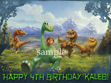 Good DINOSAUR Personalized Edible CAKE Topper Icing Image Decoration