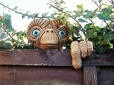 E.T Tree Face.  garden ornament, statue, sculpture, outdoor tree decorations