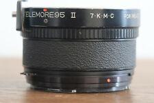 KOMURA LENS CONVERTER MFG LTD TELEMORE 95 II 7.K.M.C WITH MAMIYA M645 MOUNT EXCD