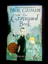 The Graveyard Book by Neil Gaiman (Ghost Story, Young Adult, Paperback, 2009)