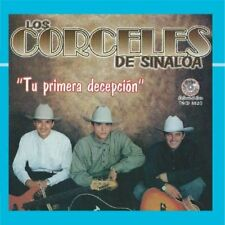 Los Corceles de Sinaloa Tu Primera Decepcion CD New Nuevo Sealed