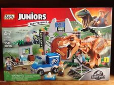 LEGO Juniors Easy to Build 10758 Jurassic World T. Rex Breakout New Sealed