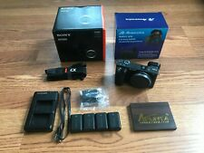 Sony Alpha a6500 Digital Camera - Body, Battery Grip, Screen Protector and More