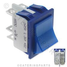 7.12.4/51 CLASSIC piatto / VETRO BLU 24V/36V AVVIAMENTO Interruttore a pulsante