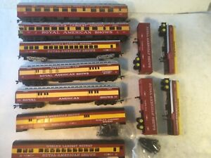 CON-COR RIVAROSSI IHC HO Various Rolling Stock Royal American Shows Trailers NR!
