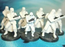 Star Wars Miniatures Lot  Snowtrooper Imperial Entanglements !!  s97