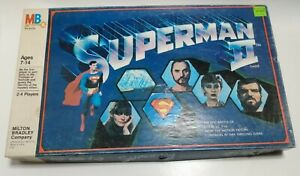 Vintage Superman ll Complete Board Game Collectable Milton Bradley Company