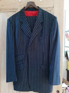 Great condition Made-to-Measure Parsons & Parsons (B'fast) Pinstripe suit, 44/35