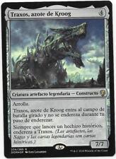 TRAXOS, AZOTE DE KROOG Prerelease FOIL DOMINARIA Español NM Scourge of Kroog