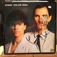 "[SOUL/ROCK/POP]~NM 12""~SPARKS~Tips For Teens~Don't Shoot Me~{1981 WHY~UK IMPORT]"
