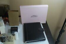 Agent Provocateur Stylish Black Leather A5 Journal / Organiser/ Folio BNIB