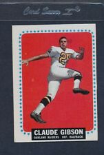 1964 Topps #138 Claude Gibson Raiders EX *497