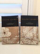 RALPH LAUREN 2x STANDARD SHAM Luxury Bed Linen HALUNA BAY FLORAL 100% Cotton