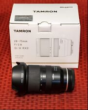 New listing Tamron Di 28-75mm F/2.8Ii Rxd Lens for Sony
