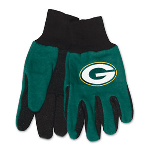 New Green Bay Packers Two Tone Sport Utility Work Gloves, Gift for Him Dad NFL