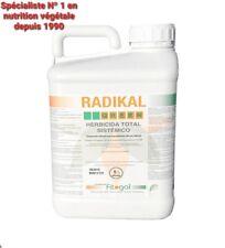Herbicide Désherbant RADIKAL Glyphosat 5L TRES concentrés LIVRAISON GRATUITE